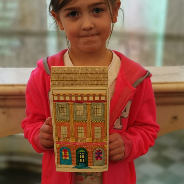 A young Crafter at the Pump Room in Feb Half Term 2020