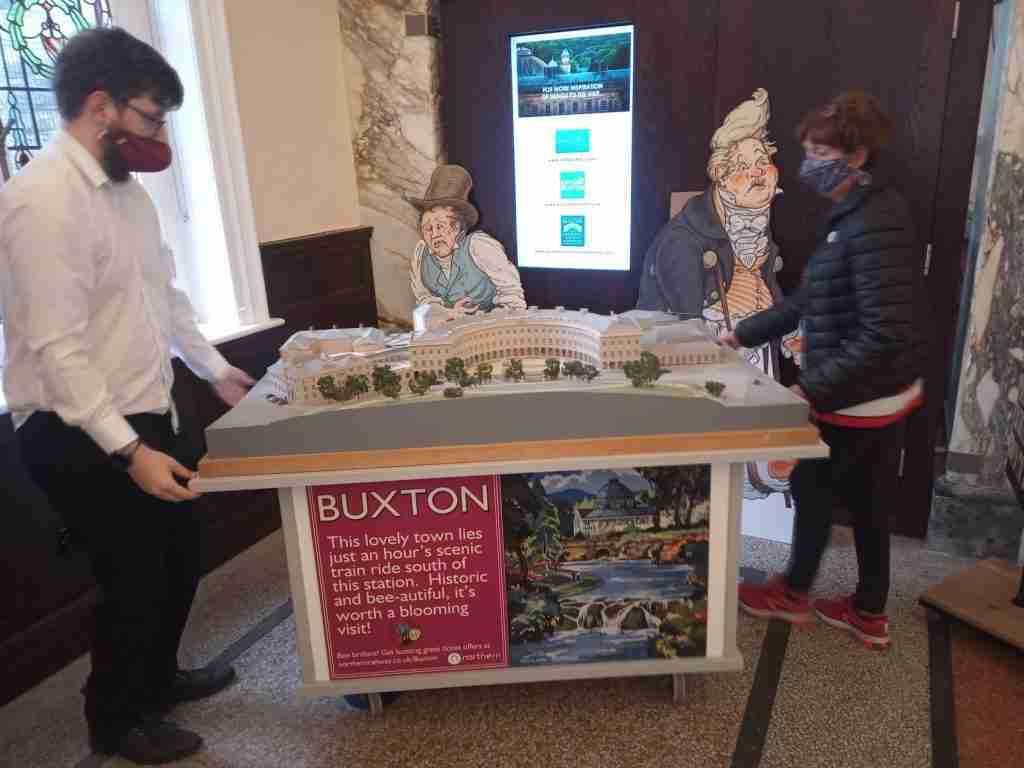 Buxton Crescent Model